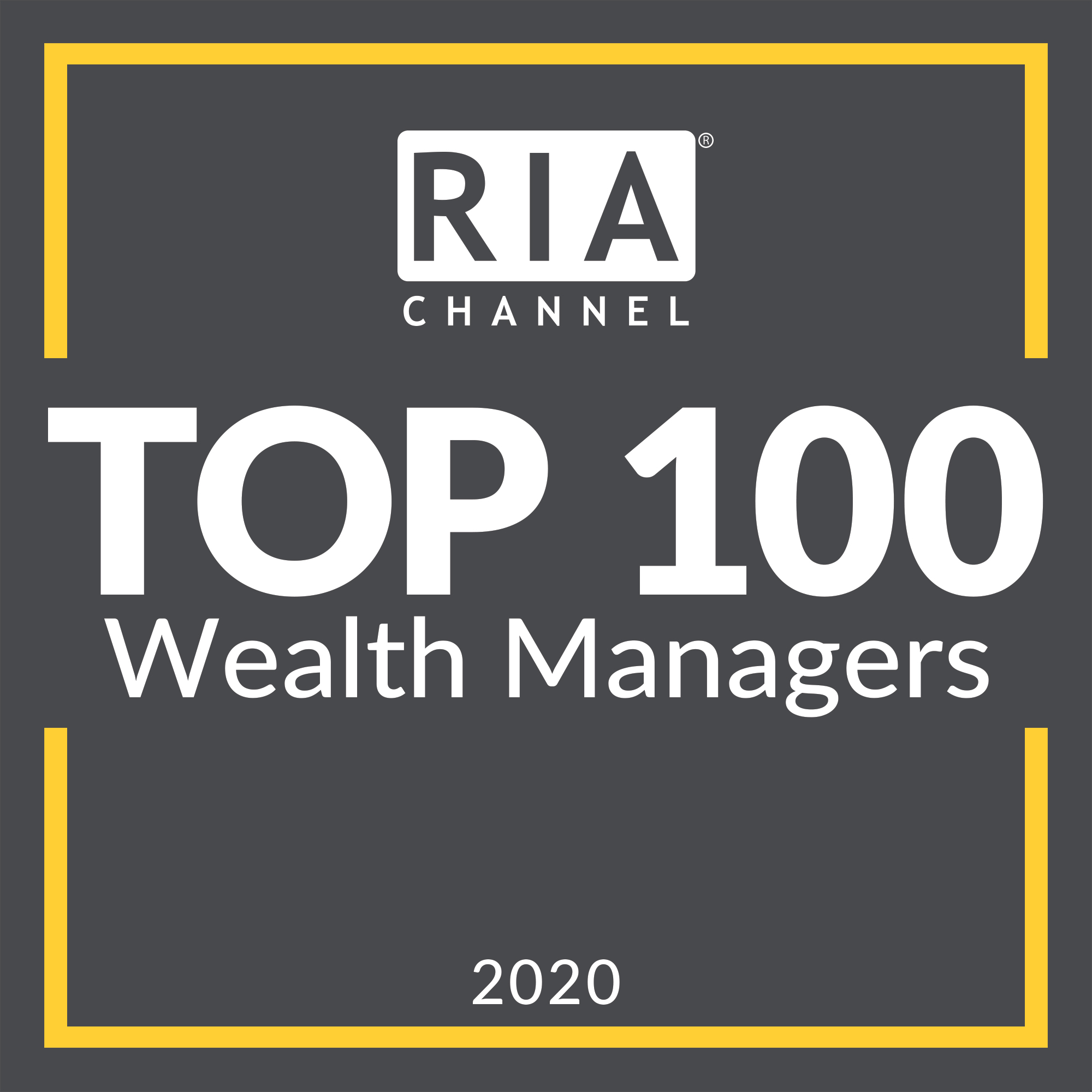 Plancorp Top 100 Wealth Manager Ranking 2020