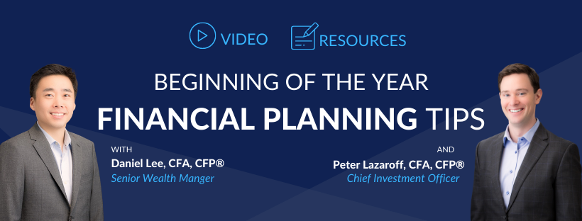 New Year Planning Tips and Resources