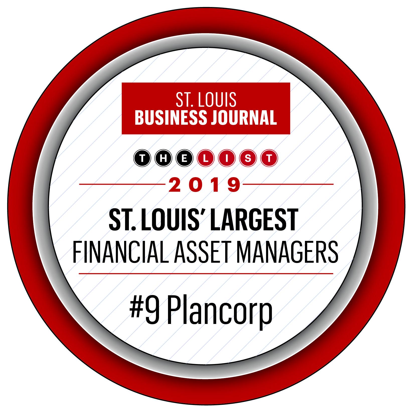 St. Louis' largest financial asset managers